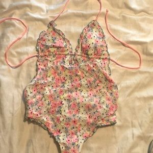 One piece Victoria secret swim suit